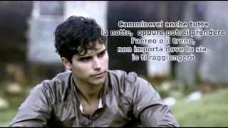 Eric Saade - Du är aldrig ensam (Traduzione italiana)