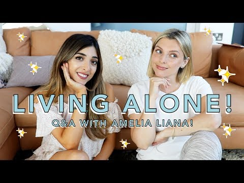 Q&A: LEARNING TO LIVE ALONE
