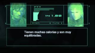 Metal Gear Solid 2 HD Collection Secrets: Rations VS Rose's Food