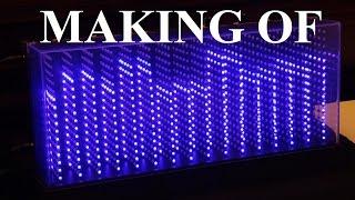 3D Spectrum Analyser (1280 LEDs)