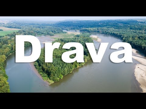 Rivers of Croatia: The Drava River, last living lowland river in Europe