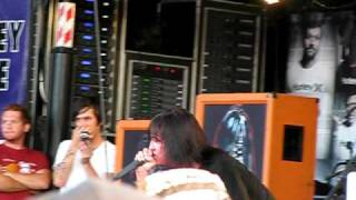 Escape the fate  Warped tour '09 - Situations feat. wiL from Aiden