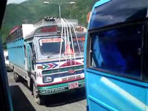 Traffic in Nepal