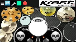 real drum   Matheus Fernandes-Amante não tem lar (Marília Mendonça) #Drumcover