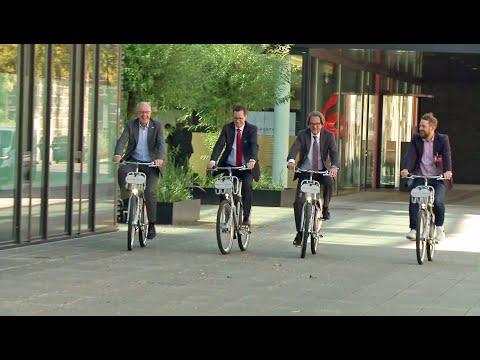 Fahrradleihe ganz einfach - mit Santander nextbike