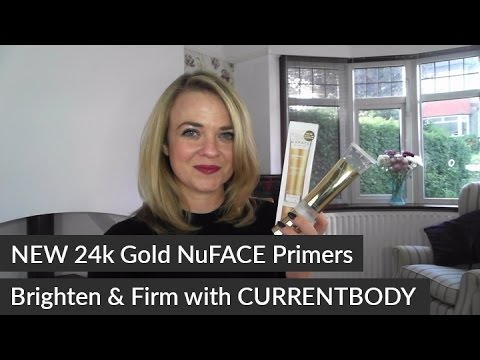 New 24k Gold NuFACE Primers by CURRENTBODY