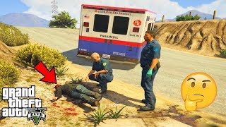 GTA 5 - Can Ambulance SAVE JOHNNY KLEBITZ