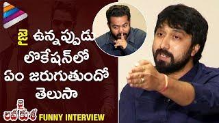 Jr NTR Reveals Funny Things about JAI Character | Jai Lava Kusa Interview | Telugu Filmnagar