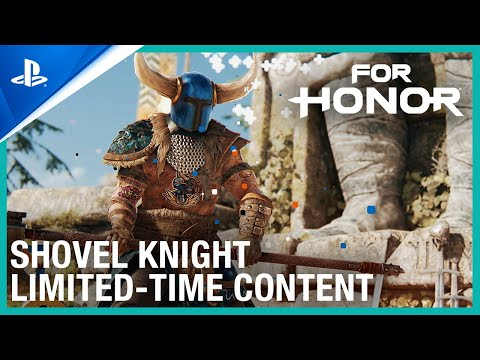 For Honor - Shovel Knight Crossover Announce Trailer   PS4