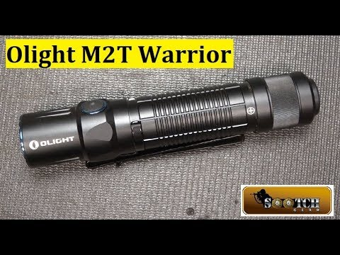 Olight M2T Warrior 1200 Lumens!