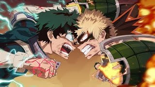 [AMV] Boku No Hero Academia - Midoriya Vs Bakugou (For The Glory)
