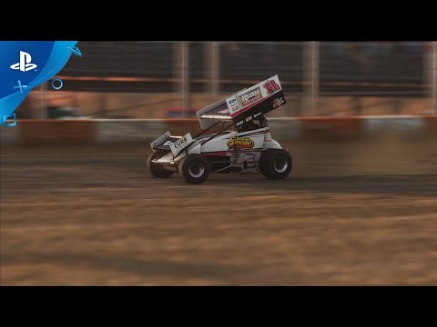 Tony Stewart's Sprint Car Racing - Gameplay Trailer | PS4