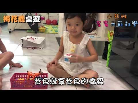 新營國小附設幼兒園 梅花鹿主題課程 自製桌遊 - YouTube