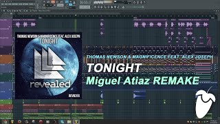 Thomas Newson & Magnificence Feat. Alex Joseph - Tonight (Original MIx) (FL Studio Remake + FLP)