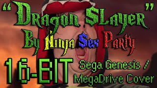 Dragon Slayer - NSP (16-BIT Sega Genesis / Mega Drive Cover)