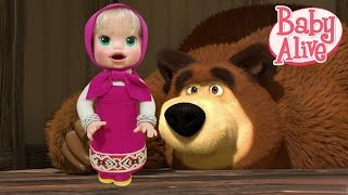 "Play Doh ""Baby Alive"" Snackin' Sara - Masha and The Bear (Маша и Медведь) Inspired Costume"