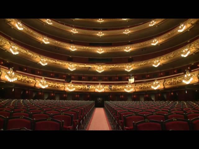 Vídeo promocional del Gran Teatre del Liceu.