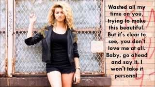 Personal (Live) - Tori Kelly (Lyrics)