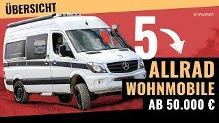 5 Off Road Wohnmobile ab 50.000 €! 💶 So bezahlbar ist das 4x4-VanLife