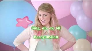 Meghan Trainor - Better when i'm dancing (lirik terjemahan indonesia)