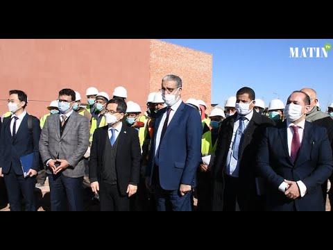 Video : Construction d'un centre de recherche en réseaux intelligents à Ben Guerir