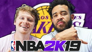 LAKERS FANTASY REBUILD FEAT. JAVALE MCGEE! NBA 2K19