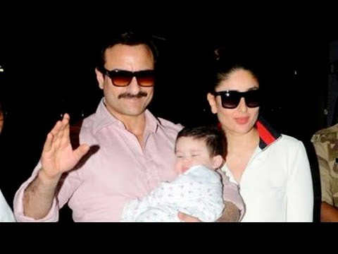 Saifeena & Baby Taimur On First Family Vacation   Saif Ali Khan, Kareena Kapoor