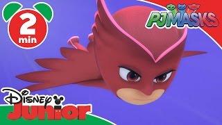 PJ Masks | Owlette's Two Wrongs | Disney Junior UK