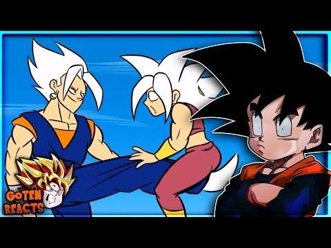Goten Reacts To VEGITO VS KEFLA, Dragon Ball Parody