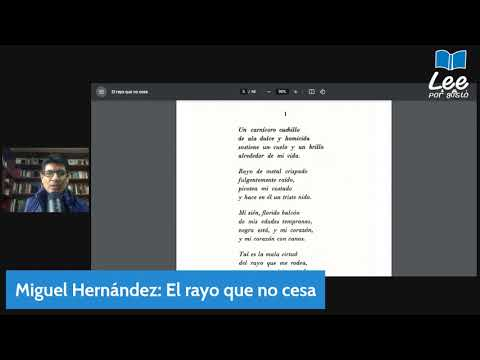 Vidéo de Miguel Hernández