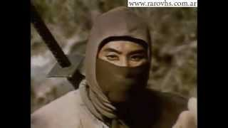 Ninja 3 The Domination (Trailer) VHS Argentina