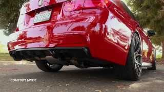 AWE Tuning BMW F30 335i Touring Edition Exhaust Suite