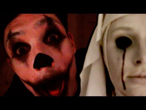 KILLER CLOWN & POSSESSED NUN ft. Reece | Lauren Curtis