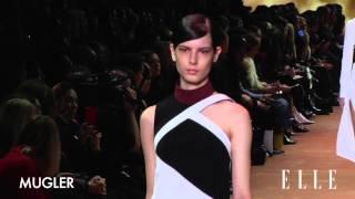 Mugler. Paris Fashion Week Otoño / invierno 2016-2017