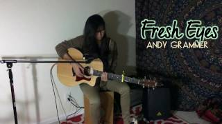 Fresh Eyes by Andy Grammer (cover by Hailey Finesse ft. my feet!)