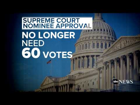 Senate OKs 'nuclear option,' clears path for high court nomination vote