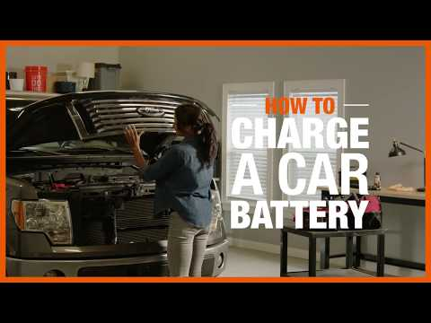 How to charge a car battery video.