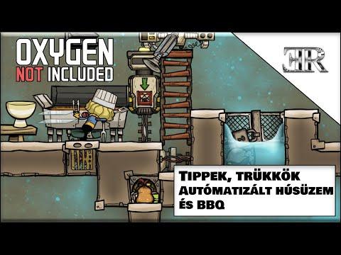 Oxygen not included, útmutató újoncoknak 11. rész Tippek Trükkök, Autómatizált húsüzem és BBQ