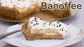 Banoffee Pie: Torta de Banana e Doce de Leite | Receita Sandra Dias