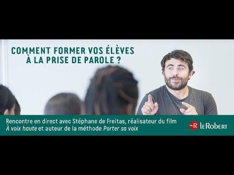 Vidéo de Stéphane de Freitas