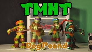 TMNT VS DOGPOUND [Stop-Motion Film]