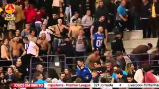 Confrontos e pancadaria nas bancadas do Benfica-FC Porto em Andebol