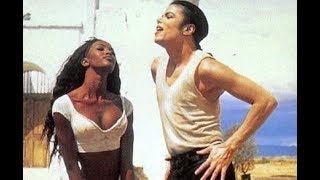 "Michael Jackson & Naomi Campbell - ""In The Closet"" Backstage"