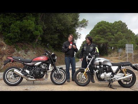 Motosx1000: Comparativa Kawasaki Z900RS Vs Honda CB1100 RS