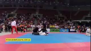 Knockout - Maxim Slynko (Ukraine) - European Championships, Sofia 2016 (WKO)