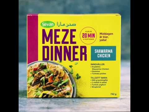 Sevan - Meze Dinner Kit - Shawarma Chicken