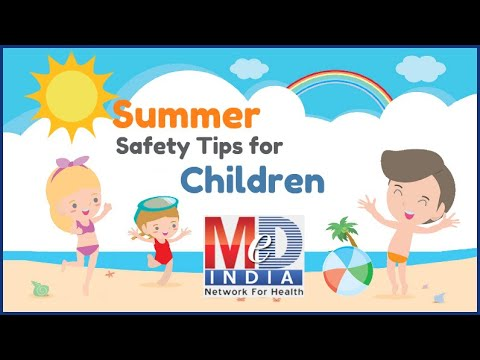 Download thumbnail for Summer Safety Tips for Children - YouTube