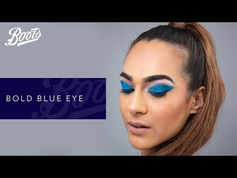 boots.com & Boots Promo Code video: Make-up Tutorial | Bold Blue Eye | Boots UK