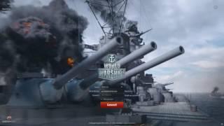 World Of Warships 05.16.1 Login Cinematic