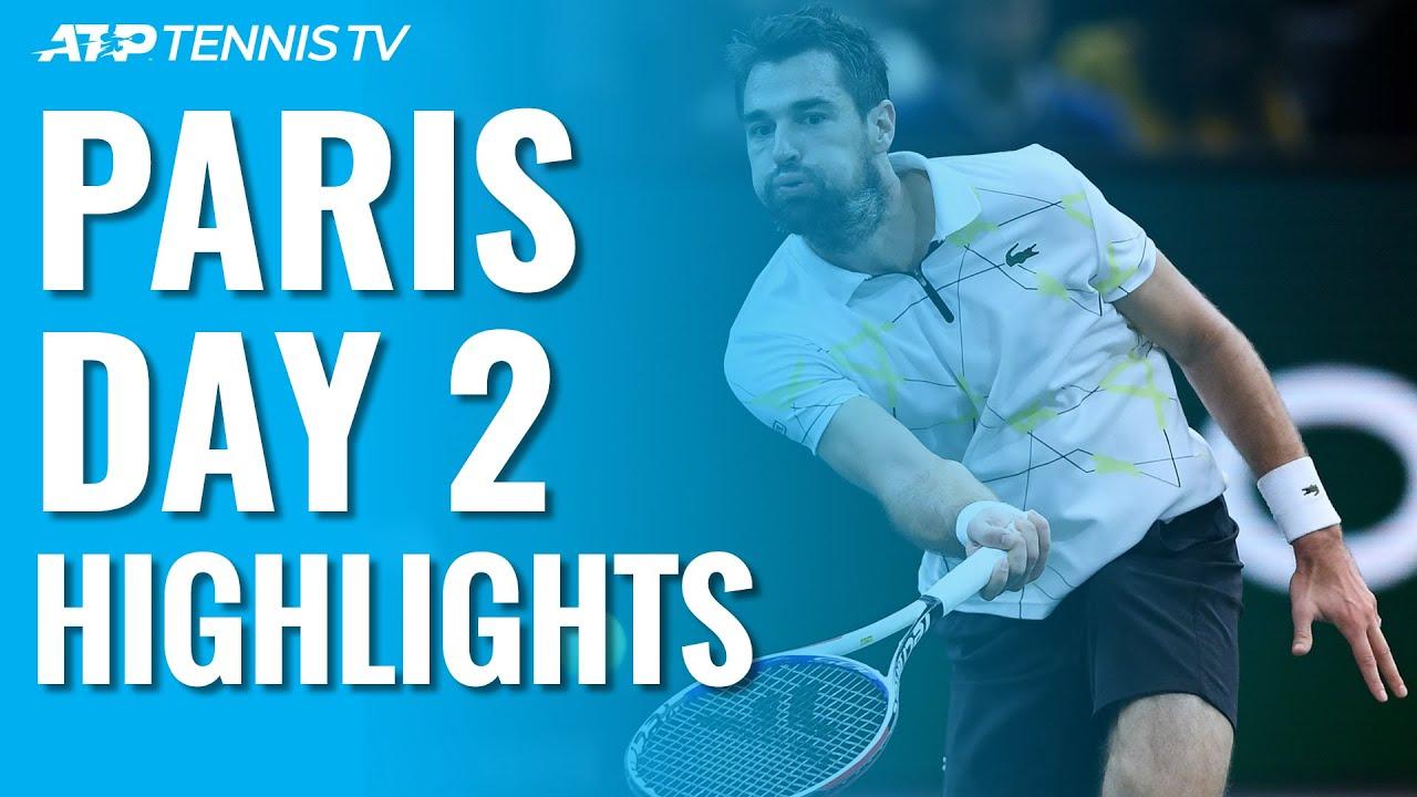 Chardy Ends Medvedev Streak; Struff Ousts Defending Champion Khachanov | Paris 2019 Day 2 Highlights
